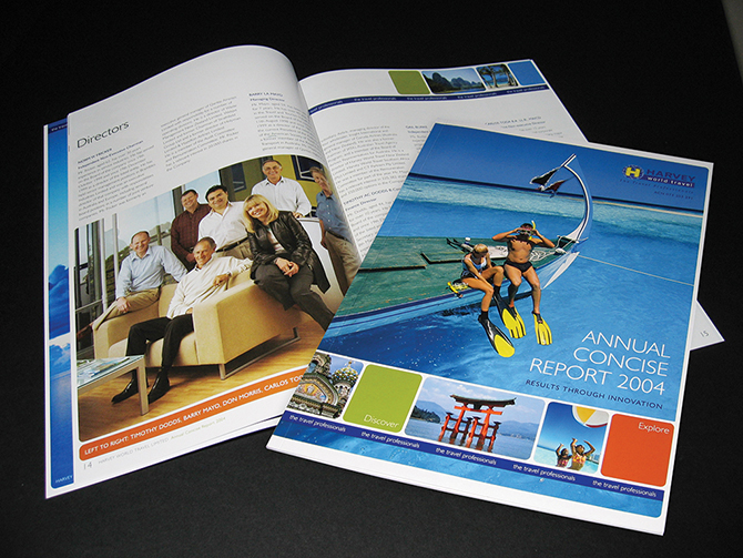 Harvey World Travel_Annual Report_1