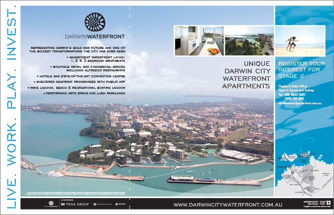 Toga Group_Darwin Waterfront Resident DPS ad