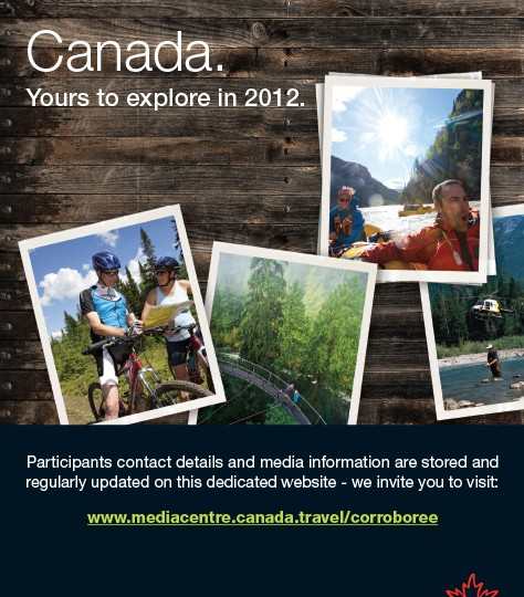 Canadian Tourism Commission_Corroboree flyer