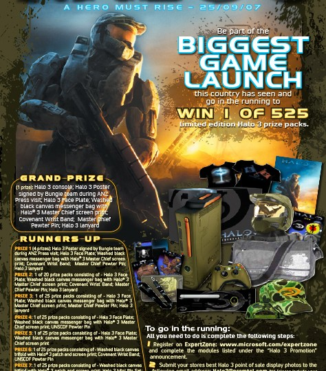 XBox 360_Halo3 Expertzone Promo